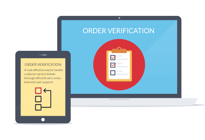order verification process