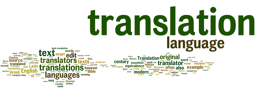 Translation Language Text