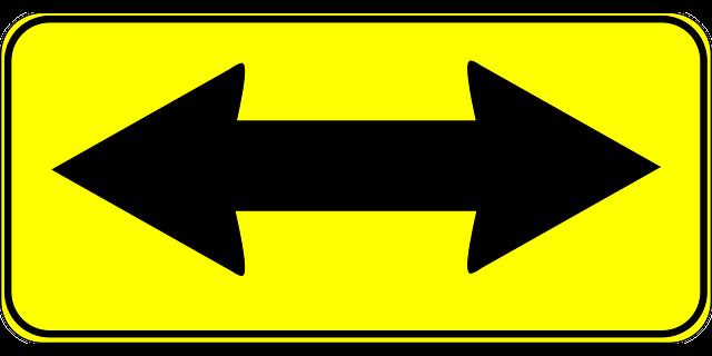 two way arrow
