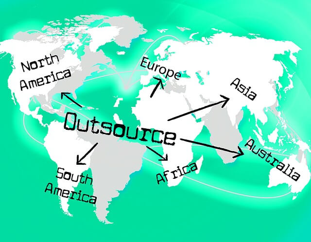 outsourcing solution around the world