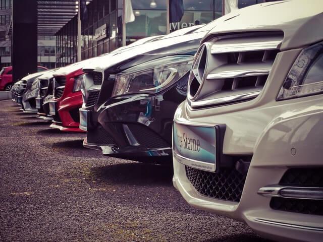 Different car in auto sales