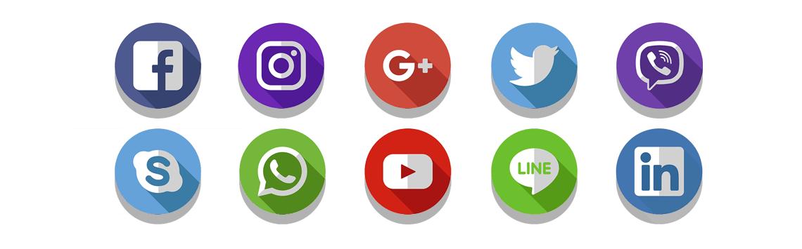 Social Media Management logos