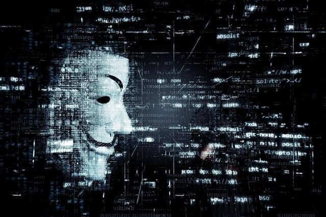 online scammer mask
