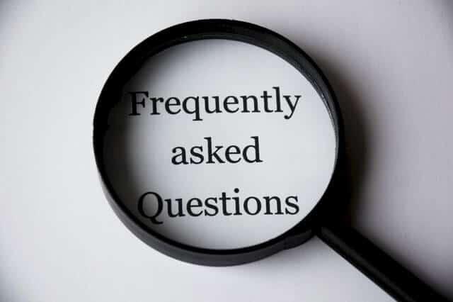 black FAQs Magnifier