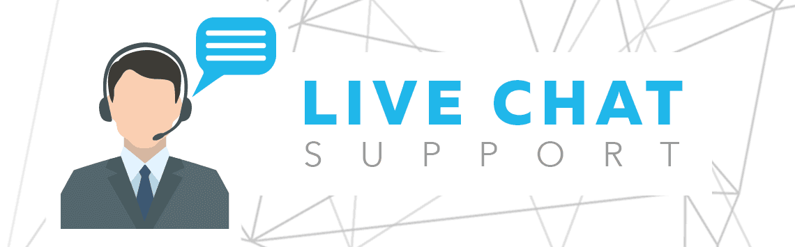 Live chat support agent
