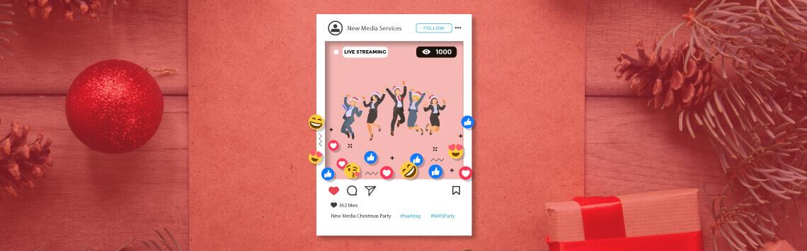 business social media live stream