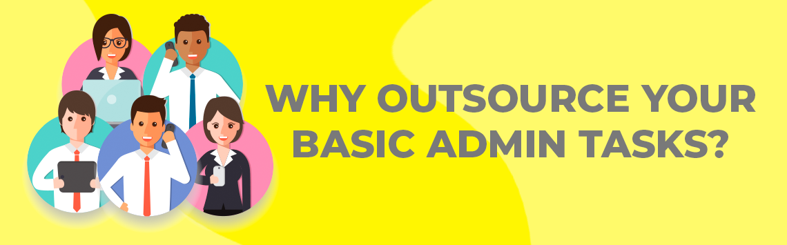 Outsourcing admin tasks