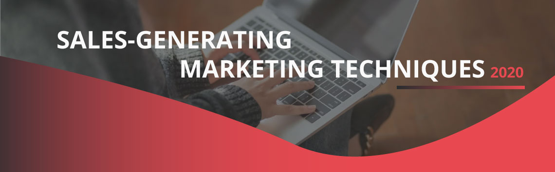 3 SALES-GENERATING MARKETING TECHNIQUES